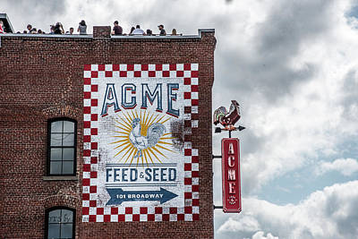 Photograph - Acme Feed And Seed by Stefanie Silva