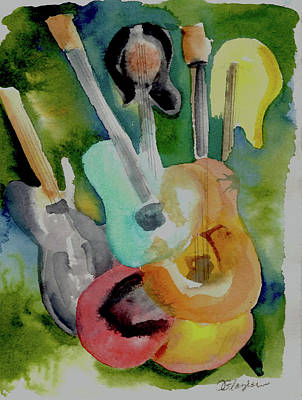 Painting - Acoustic Alchemy by Cindy Glazier
