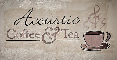 Photograph - Acoustic Coffee And Tea by Greg Jackson