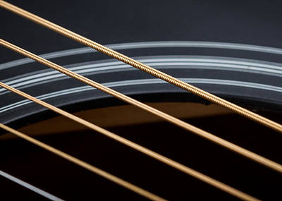 Photograph - Acoustic Guitar by Clare Bambers