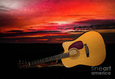 Photograph - Acoustic Skies by Robert Frederick