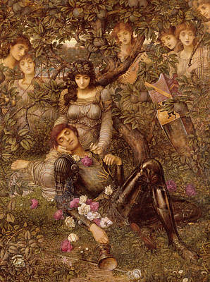 Seduction Painting - Acrasia by John Melhuish Strudwick