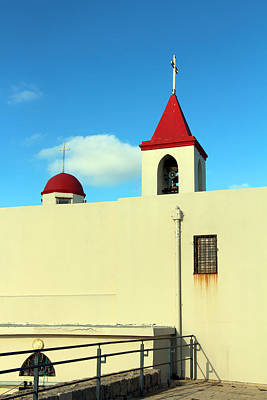 Photograph - Acre Church by Munir Alawi