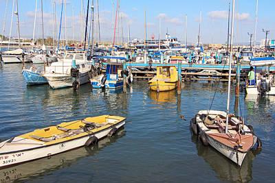Photograph - Acre City Harbor by Munir Alawi