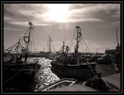 Acre  Fishing Port Art Print by Arik Baltinester