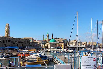 Photograph - Acre Harbor by Munir Alawi