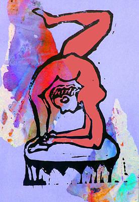Acrobat 5 Art Print by Adam Kissel