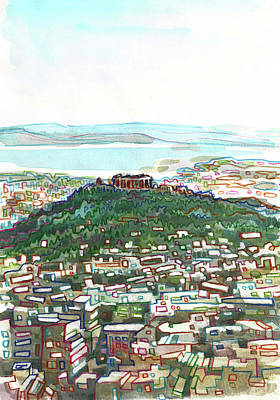 Painting - Acropolis, Athens by Robert Spittlehouse