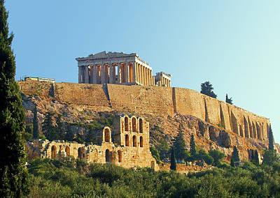 Photograph - Acropolis by Ellen Henneke