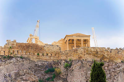 Photograph - Acropolis Hill In Athens, Greece. by Marek Poplawski
