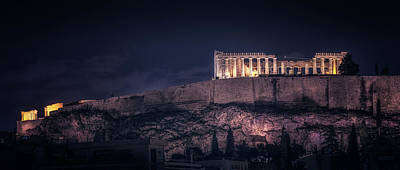 Photograph - Acropolis by James Billings