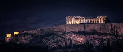 Photograph - Acropolis by James Billings