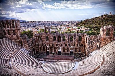 Photograph - Acropolis by Linda Constant