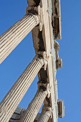 Wall Art - Photograph - Acropolis by Mary McGrath