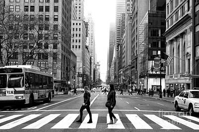 Photograph - Across 5th Avenue by John Rizzuto