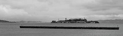 Photograph - Across Alcatraz by Maj Seda