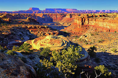 Photograph - Across Canyonlands by Greg Norrell