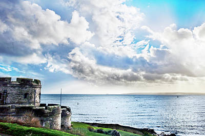 Photograph - Across Falmouth Bay Cornwall by Terri Waters