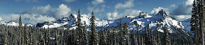 Photograph - Across From Mt Rainier by Mary Jo Allen