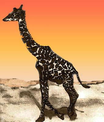 Painting - Across Sunny Sands by Debra     Vatalaro