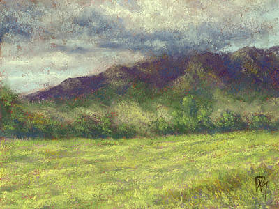 Painting - Across The Acres by David King