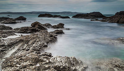 St Ives Wall Art - Photograph - Across The Bay  by Nigel Jones