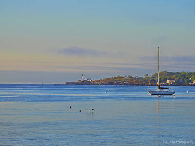 Photograph - Across The Bay by Teri Ridlon