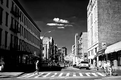 Photograph - Across The Bowery by John Rizzuto