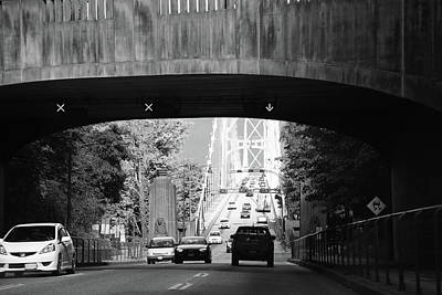 Photograph - Across The Bridge  by The Artist Project