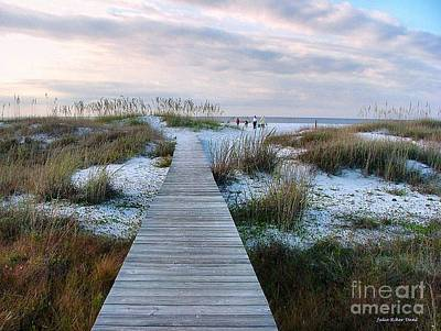 Photograph - Across The Dunes by Julie Dant