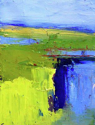 Painting - Across The Earth by Nancy Merkle