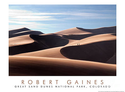 Photograph - Across The Empty Spaces by Robert Gaines