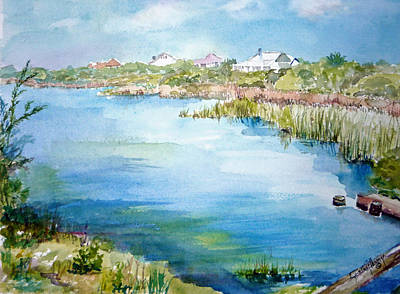 Painting - Across The Lake by Dorothy Herron
