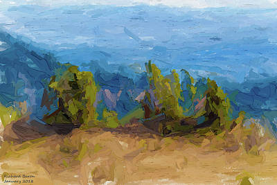 Digital Art - Across The Landscape by Richard Baron