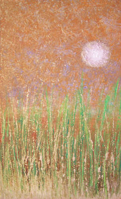 Painting - Across The Marsh by Steve Ellis