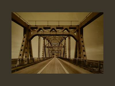Photograph - Across The Old Bridge by Gary Smith
