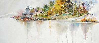 Painting - Across The Pond by P Anthony Visco