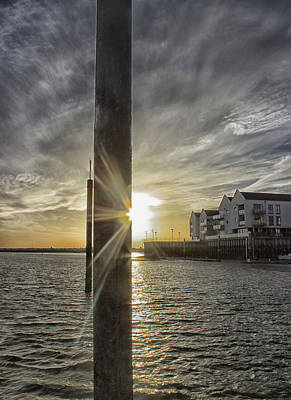 Essex Wall Art - Photograph - Across The Quay by Martin Newman
