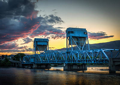 Lewiston Photograph - Across The River by Brad Stinson
