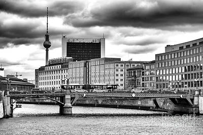 Photograph - Across The River Spree by John Rizzuto