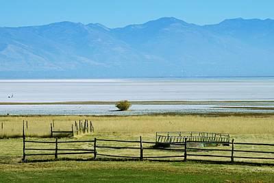 Photograph - Across The Salt Flats by Eric Tressler