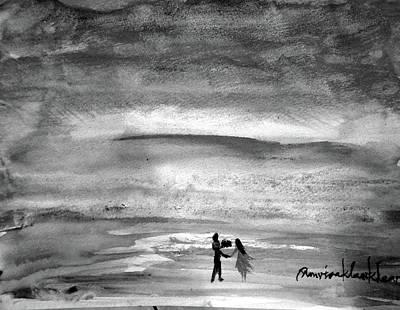 Painting - Across The Sea by Wanvisa Klawklean