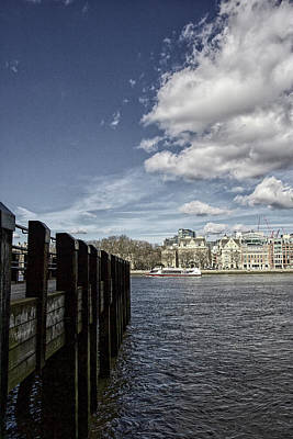 Photograph - Across The Thames, London by Christopher Rees