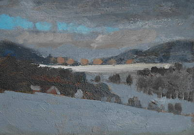 Painting - Across The Valley by Len Stomski
