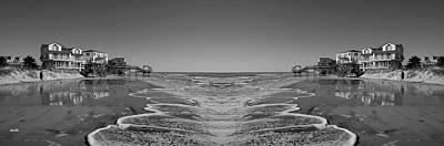 Abandoned Digital Art - Across The Way by Betsy Knapp