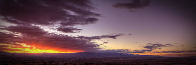 Photograph - Across Vegas Sunset by Robert Melvin