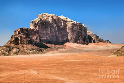 Photograph - Across Wadi Rum by Peter Kennett