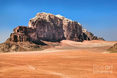 Across Wadi Rum Art Print