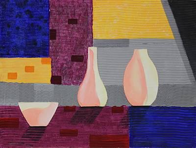 Painting - Acrylic 3d Msc 005 by Mario Sergio Calzi