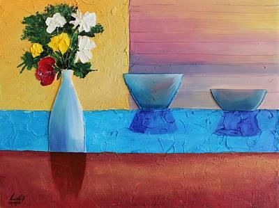Painting - Acrylic 3d Msc 006 by Mario Sergio Calzi